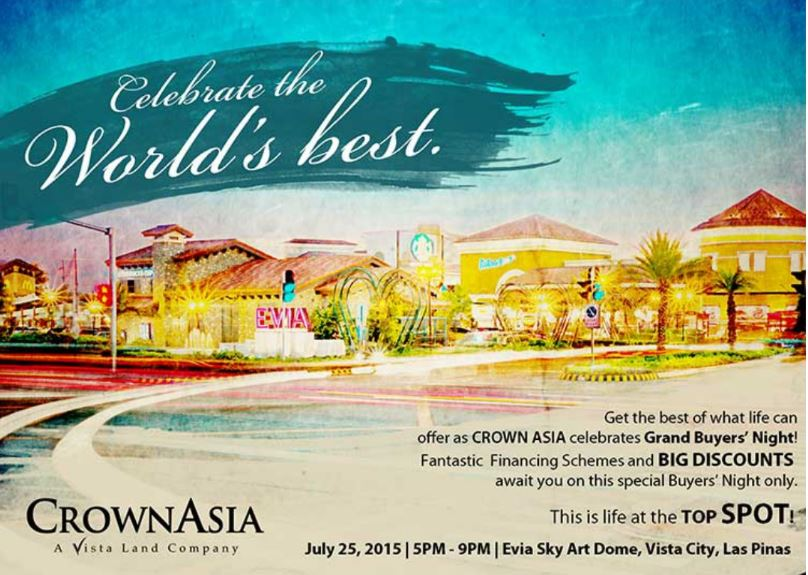 Grand Buyers Night on July 25 Crown Asia