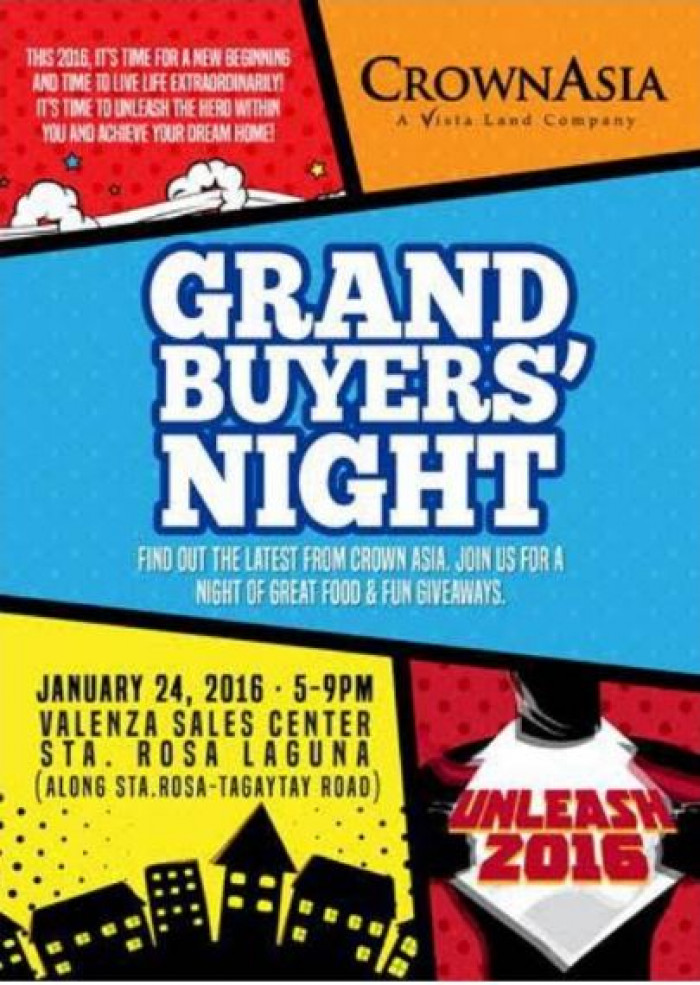 Grand Buyers Night Crown Asia