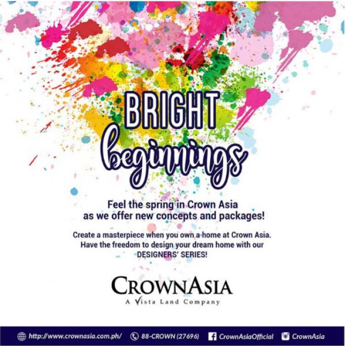 Bright Beginnings Crown Asia launches the Designer Series