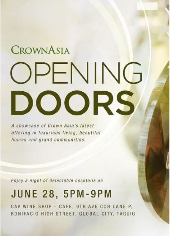 Crown Asia Opens Doors for Latest Offerings Crown Asia