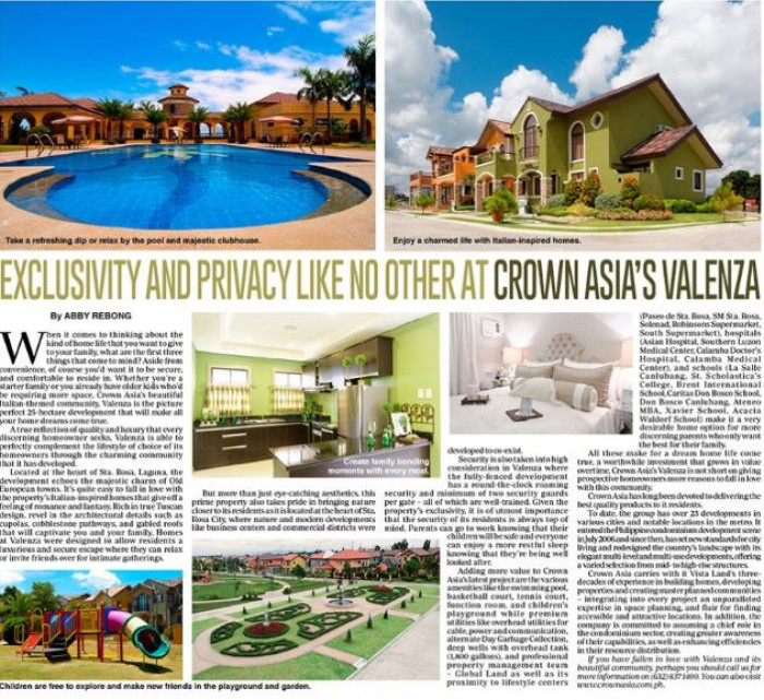 Exclusivity And Privacy Like No Other At Crown Asias Valenza Crown Asia 3