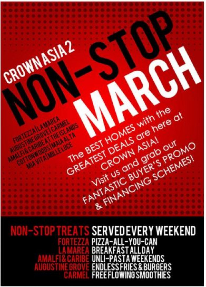 Non Stop March Crown Asia