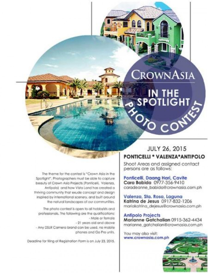 Crown Asia In The Spotlight Photo Contest